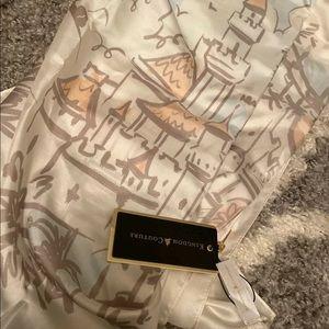 Disney Parks Kingdom Couture Silk Scarf